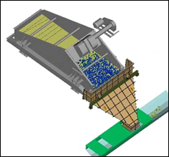 Newton can include linear or elliptic cyclic motion to simulate vibrating screens and cone crushers